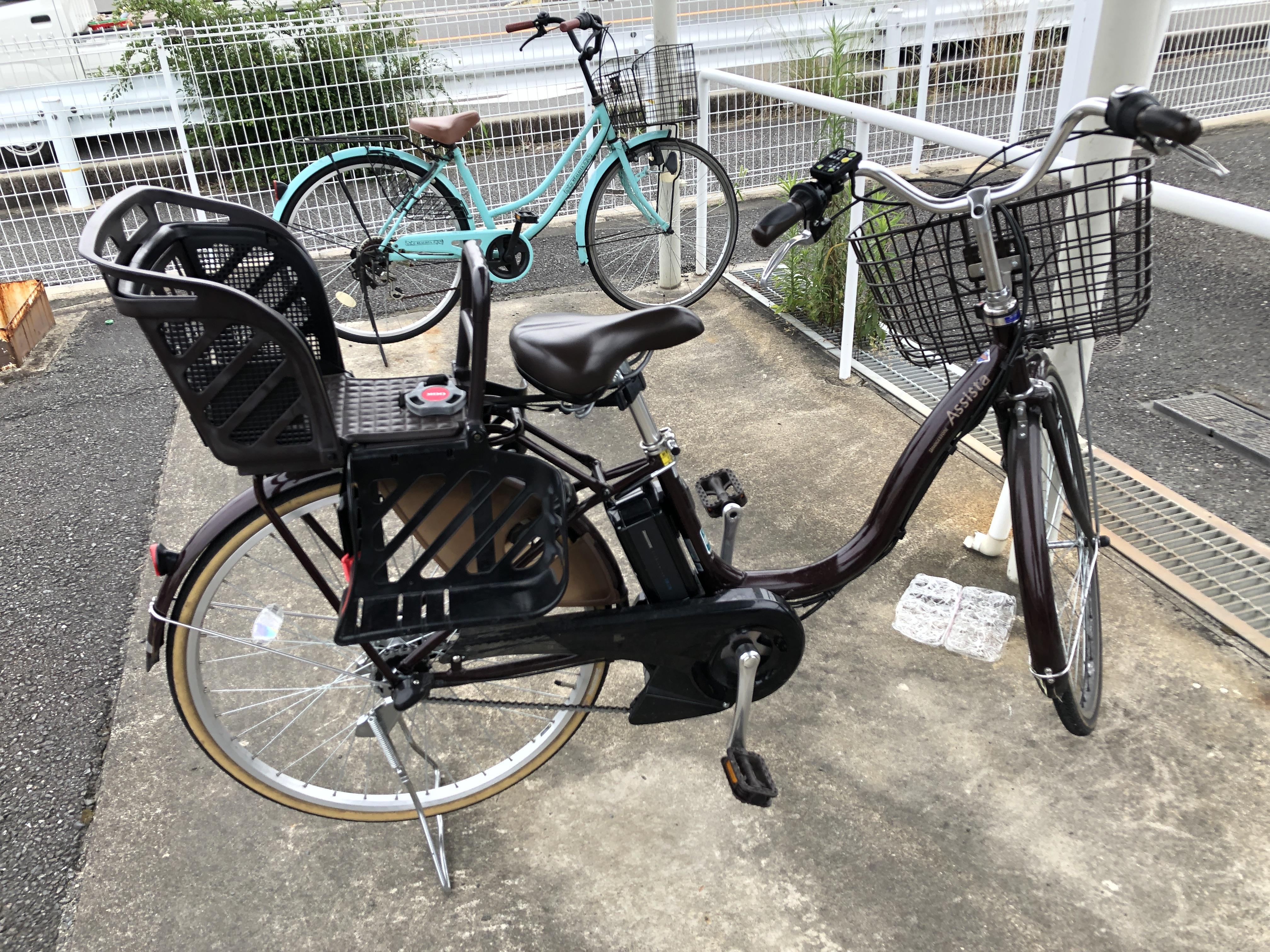 30代女性 神戸市灘区★自転車を引退します!